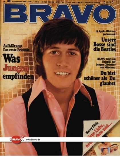 Bravo - 39/69, 22.09.1969 - Barry Gibb (Bee Gees)