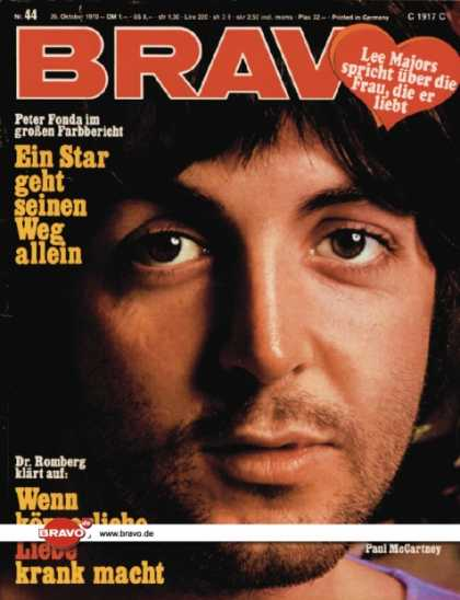 Bravo - 44/70, 26.10.1970 - Paul McCartney (Beatles)
