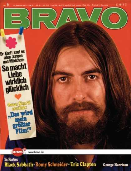 Bravo - 09/71, 22.02.1971 - George Harrison (Beatles)