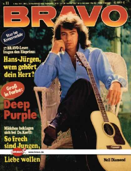 Bravo - 11/72, 08.03.1972 - Neil Diamond