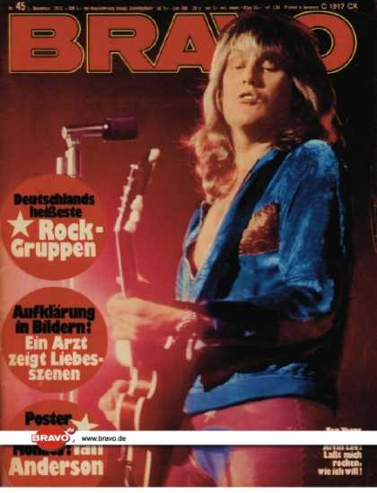 Bravo - 45/72, 01.11.1972 - Alvin Lee (Ten Years After)