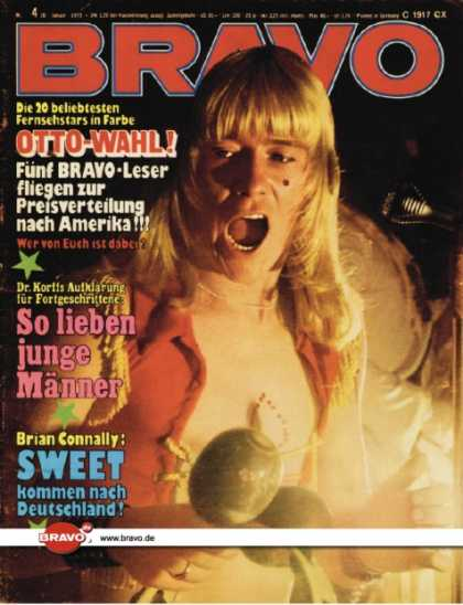 Bravo - 04/73, 18.01.1973 - Brian Connolly (The Sweet)