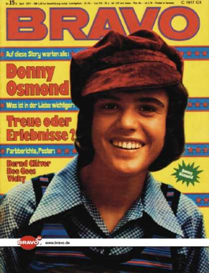 Bravo - 15/73, 05.04.1973 - Donny Osmond