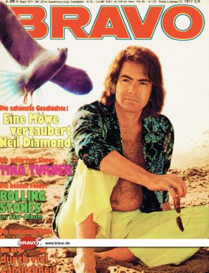 Bravo - 36/73, 30.08.1973 - Neil Diamond
