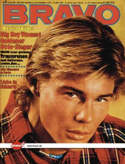 Bravo - 06/74, 31.01.1974 - Jan-Michael Vincent