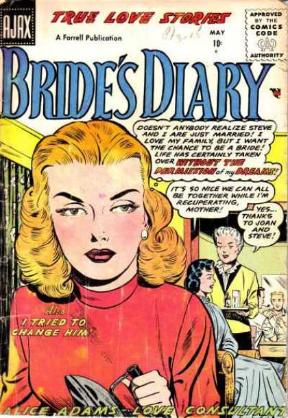 Bride's Diary 9 - Alice Adams - Love Consultant - Marriage - Family - Mother