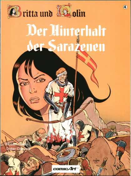 Britta und Colin 4 - Der Hinterhalt - Der Sarazenen - Comic Art - Sword - Battle
