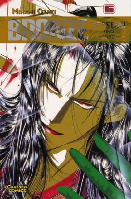 Bronze: Zetsuai Since 1989 6 - Carlsen Comics - Minami Ozaki - Green Fingers - Red Eyes - Black Hair