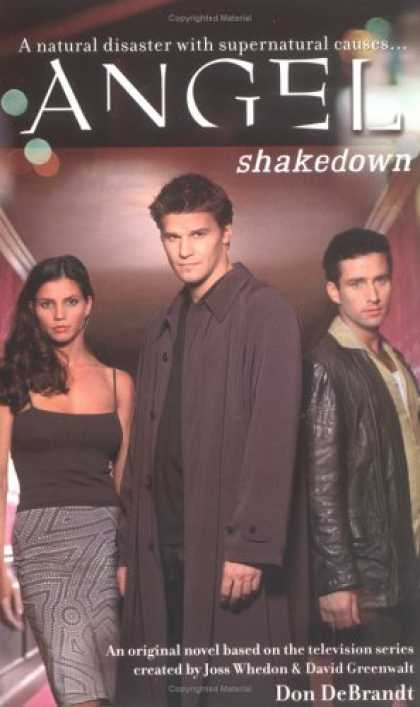 Buffy the Vampire Slayer Books - Shakedown (Angel)