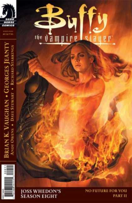 Buffy the Vampire Slayer Books - Buffy the Vampire Slayer Season 8 #9: No Future For You Part Four (Dark Horse Co