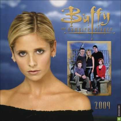 Buffy the Vampire Slayer Books - Buffy the Vampire Slayer: 2009 Wall Calendar
