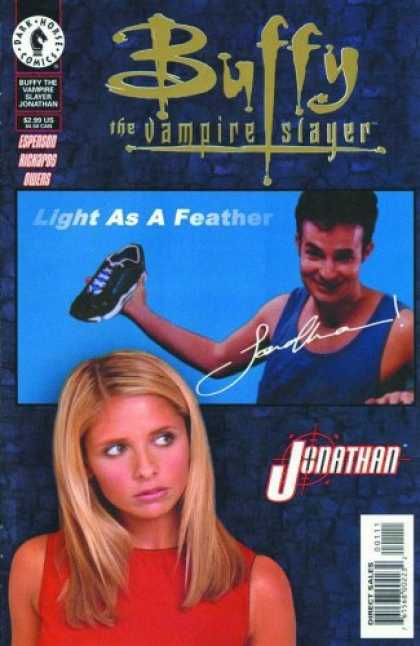 Buffy the Vampire Slayer Books - Buffy the Vampire Slayer: Jonathan (One-Shot)