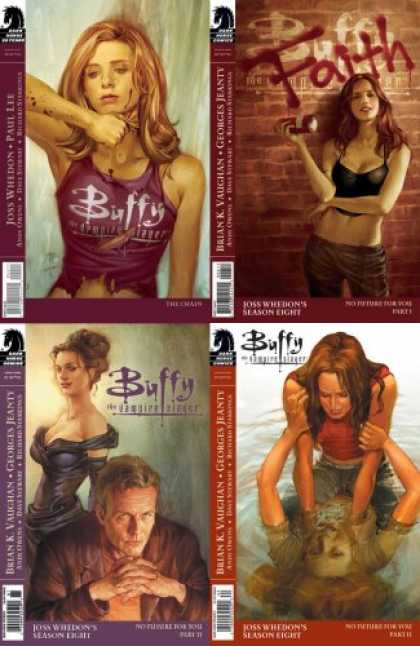 Buffy the Vampire Slayer Books - Buffy the Vampire Slayer Season 8 Set #5, #6, #7 and #8