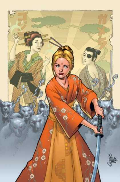 Buffy the Vampire Slayer Books - Buffy the Vampire Slayer Season 8 #12: Wolves at the Gate Part One (Variant Cove