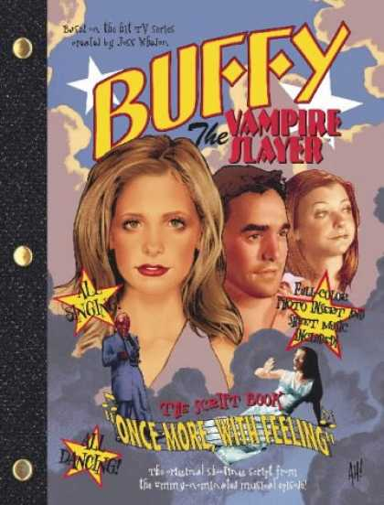"Buffy the Vampire Slayer Books - Once More with Feeling: ""Buffy the Vampire Slayer"" Script Book"