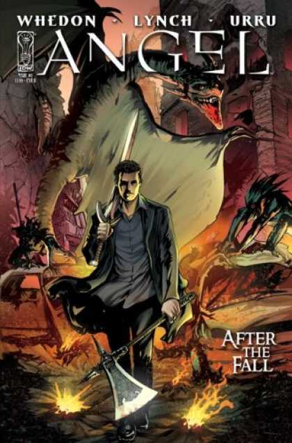 Buffy the Vampire Slayer Books - Angel After The Fall #1 Season 6 Volume One FRANCO URRU VARIANT COVER