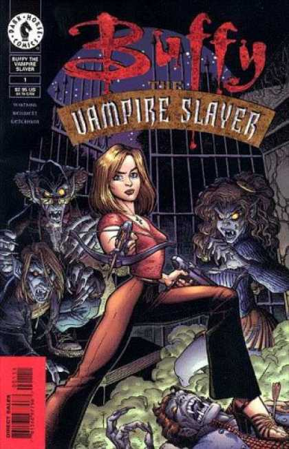 Buffy the Vampire Slayer Books - Buffy the Vampire Slayer #1 (Buffy the Vampire Slayer #1, Issue #1)