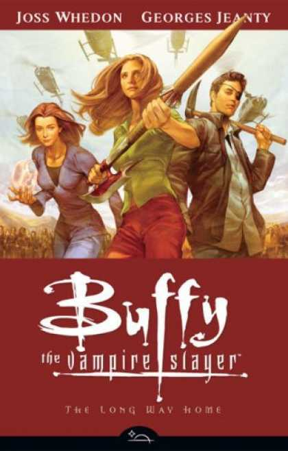 Buffy the Vampire Slayer Books - Buffy the Vampire Slayer: The Long Way Home Vol 1 Limited Edition Hardcover (Buf