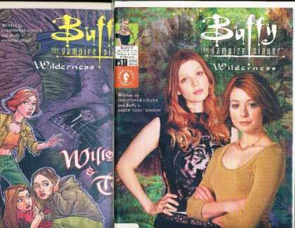 Buffy the Vampire Slayer Books - Buffy the Vampire Slayer Willow & Tara Wilderness Comic Book Set (BTVS)