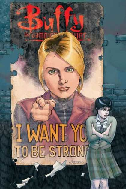 Buffy the Vampire Slayer Books - Buffy the Vampire Slayer Season 8 #5: The Chain (Variant Cover, Dark Horse Comic