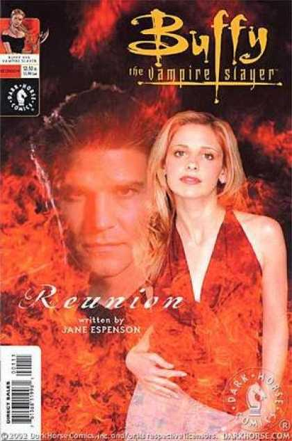 Buffy the Vampire Slayer Books - Buffy the Vampire Slayer/Angel: Reunion (Photo Cover) (FIRST PRINTING Photo cove