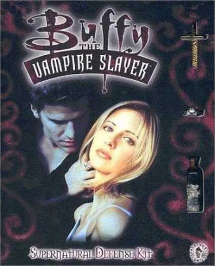 Buffy the Vampire Slayer Books - Buffy the Vampire Slayer: Supernatural Defense Kit