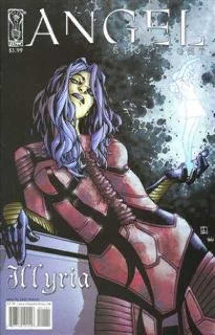 Buffy the Vampire Slayer Books - Angel Spotlight Illyria Comic Book One Shot Zach Howard Cover