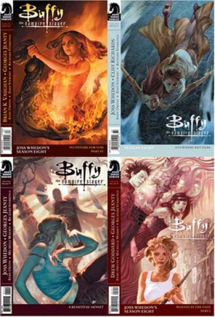 Buffy the Vampire Slayer Books - Buffy the Vampire Slayer Season 8 Set #9, #10, #11, #12