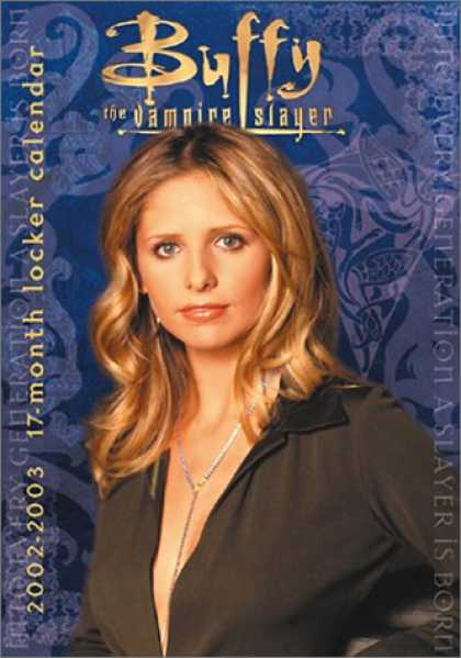 Buffy the Vampire Slayer Books - Buffy the Vampire Slayer Locker Calendar (2003)