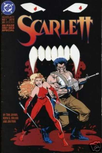 Buffy the Vampire Slayer Books - Scarlett #1