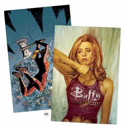 Buffy the Vampire Slayer Books - Buffy the Vampire Slayer Season 8 #1 to #8 Set of Comic Books (BTVS)