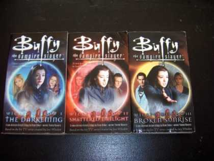 Buffy the Vampire Slayer Books - 3 Book Set: Wicked Willow Books 1,2 & 3 (Buffy the Vampire Slayer) The Darkening