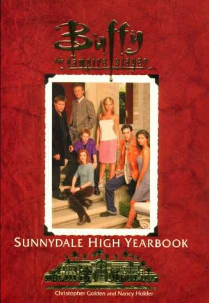 Buffy the Vampire Slayer Books - The Sunnydale High Yearbook Buffy The Vampire Slayer