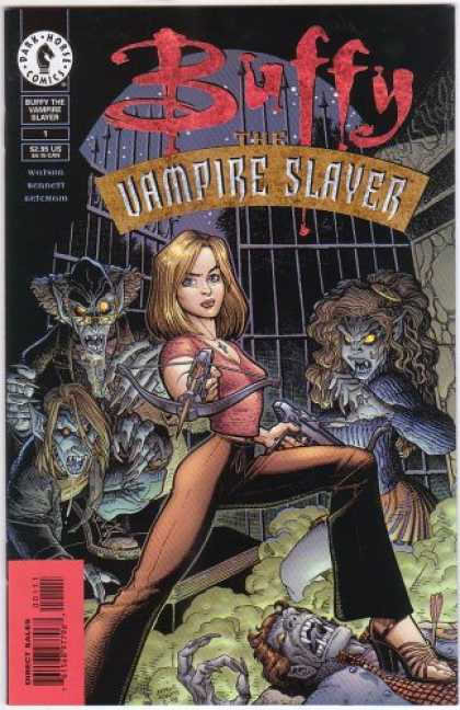 Buffy the Vampire Slayer Books - Buffy the Vampire Slayer #1 - Cover A - Comic Book