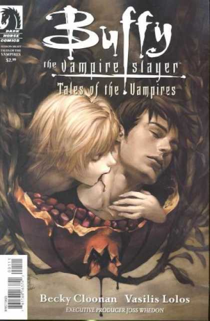 Buffy the Vampire Slayer Books - Buffy the Vampire Slayer Tales of the Vampires #1 Chen Cover