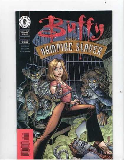 "Buffy the Vampire Slayer Books - Buffy the Vampire Slayer 1 ""Wu-tang fang"" (1998)"