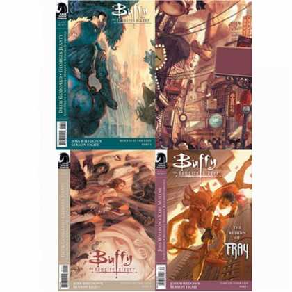 Buffy the Vampire Slayer Books - Buffy the Vampire Slayer Season Eight #13 #14 #15 and #16