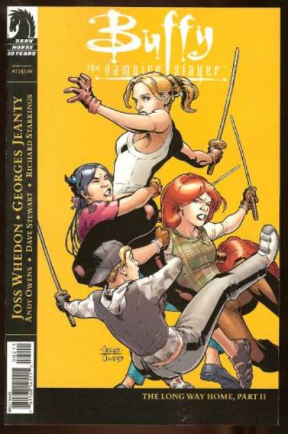 Buffy the Vampire Slayer Books - Buffy the Vampire Slayer Season 8 #2: The Long Way Home Part Two (Variant Cover,