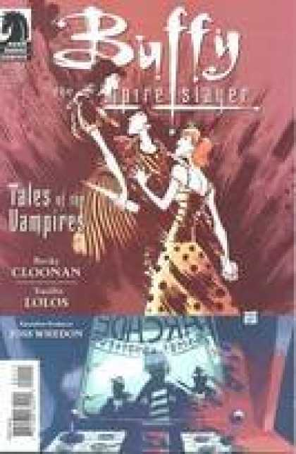 Buffy the Vampire Slayer Books - Buffy the Vampire Slayer Tales of the Vampires #1 Ba & Moon Cover