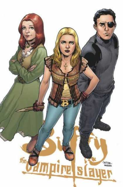 Buffy the Vampire Slayer Books - Buffy the Vampire Slayer Season 8 #4: The Long Way Home Part Four (Variant Cover