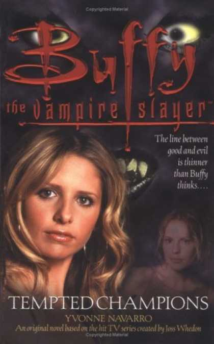 Buffy the Vampire Slayer Books - Tempted Champions (Buffy the Vampire Slayer)
