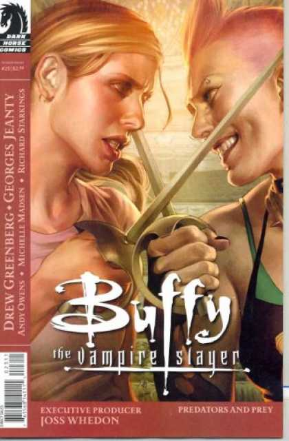 Buffy the Vampire Slayer Books - Buffy the Vampire Slayer Season 8 #23 Jo Chen Cover
