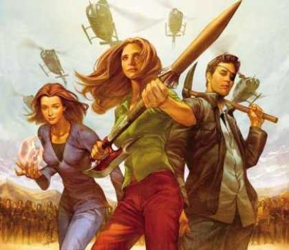 Buffy the Vampire Slayer Books - Buffy the Vampire Slayer Season 8 Set #21, #22, #23 and #24