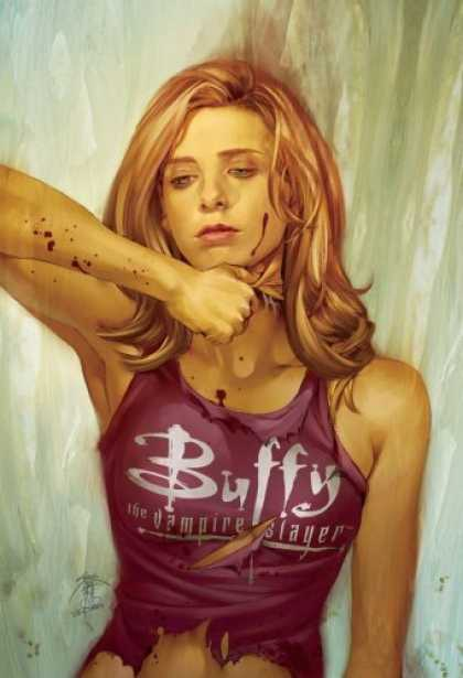 Buffy the Vampire Slayer Books - Buffy the Vampire Slayer Season 8 #5: The Chain (Dark Horse Comics)