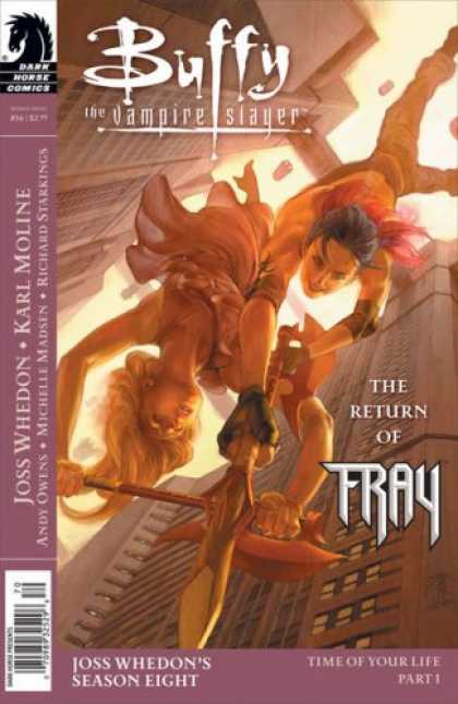 Buffy the Vampire Slayer Books - Buffy the Vampire Slayer Season 8 #16 : Time of Your Life Part One (Dark Horse C
