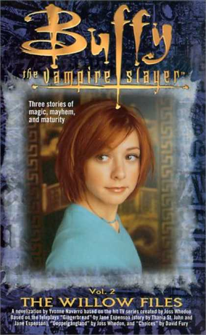 Buffy the Vampire Slayer Books - The Willow Files, Vol. 2
