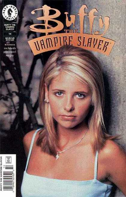 Buffy the Vampire Slayer 14 - Women - Sad Face Women - Watching Somthing About - Tree - Wall