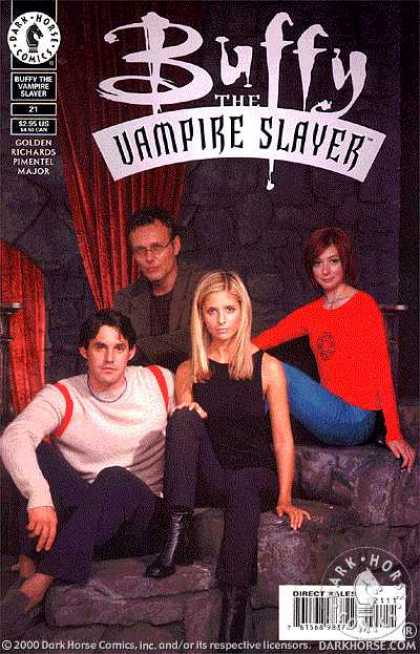 Buffy the Vampire Slayer 21 - Buffy And Friends - Stone - Dungeon - Red Woman - Buffy Vs The Vampire
