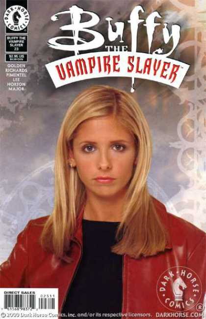 Buffy the Vampire Slayer 23 - Buffy Summers - Red Jacket - Black Shirt - Sarah Michelle Gellar - Graphic Art