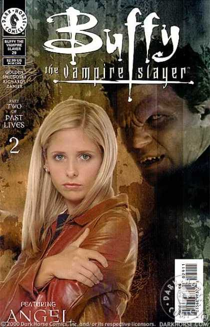 Buffy the Vampire Slayer 29 - Past Lives - Part Two - Angel - Brown Leather Jacket - No 29 - Dave Stewart